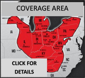 Garner Coverage Area
